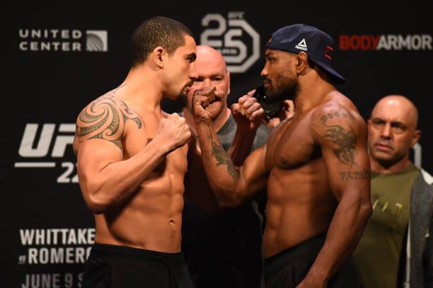 Sem cinturão em jogo, Whittaker e Romero se enfrentam no UFC 225; Dos Anjos busca feito histórico