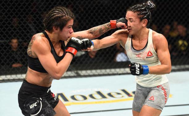 Esparza acusa Gadelha de 'trapacear' no UFC 225 e dispara: 'É uma lutadora suja'