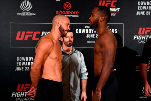 Cerrone encara o embalado Edwards no UFC Cingapura; dois brasileiros entram em ação