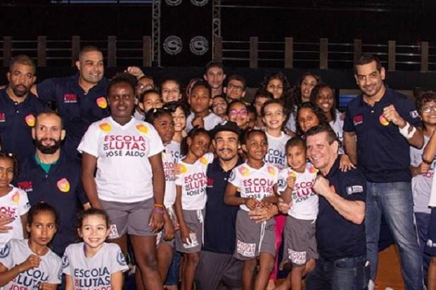 Escola de Lutas José Aldo alia psicopedagogia ao esporte para auxiliar alunos no desenvolvimento