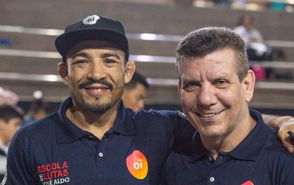 José Aldo inaugura projeto social no Morro Azul, no Rio, e afirma: 'Nosso intuito é formar pessoas do bem'
