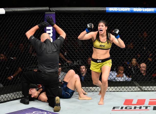 Ketlen exalta Evinger no UFC São Paulo, vê Holm mais 'perigosa' que Amanda e projeta cinturão interino