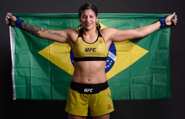 Ketlen Vieira sofre lesão em treino e está fora de duelo contra Evinger no UFC SP