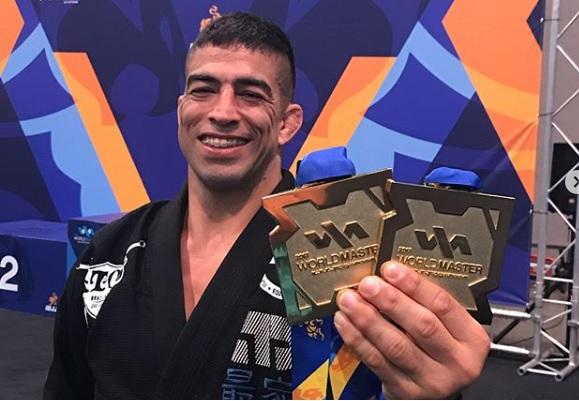 Ouro duplo de Guto Campos e títulos de Sperry, Megaton e mais feras marcam Mundial Master