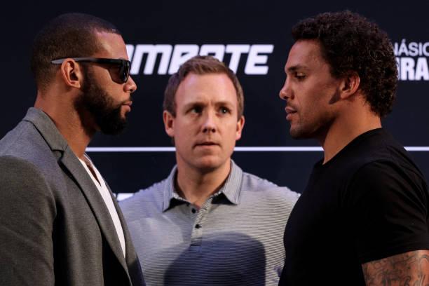 Anders promete show contra Marreta no UFC São Paulo: 'Vamos trocar porrada'