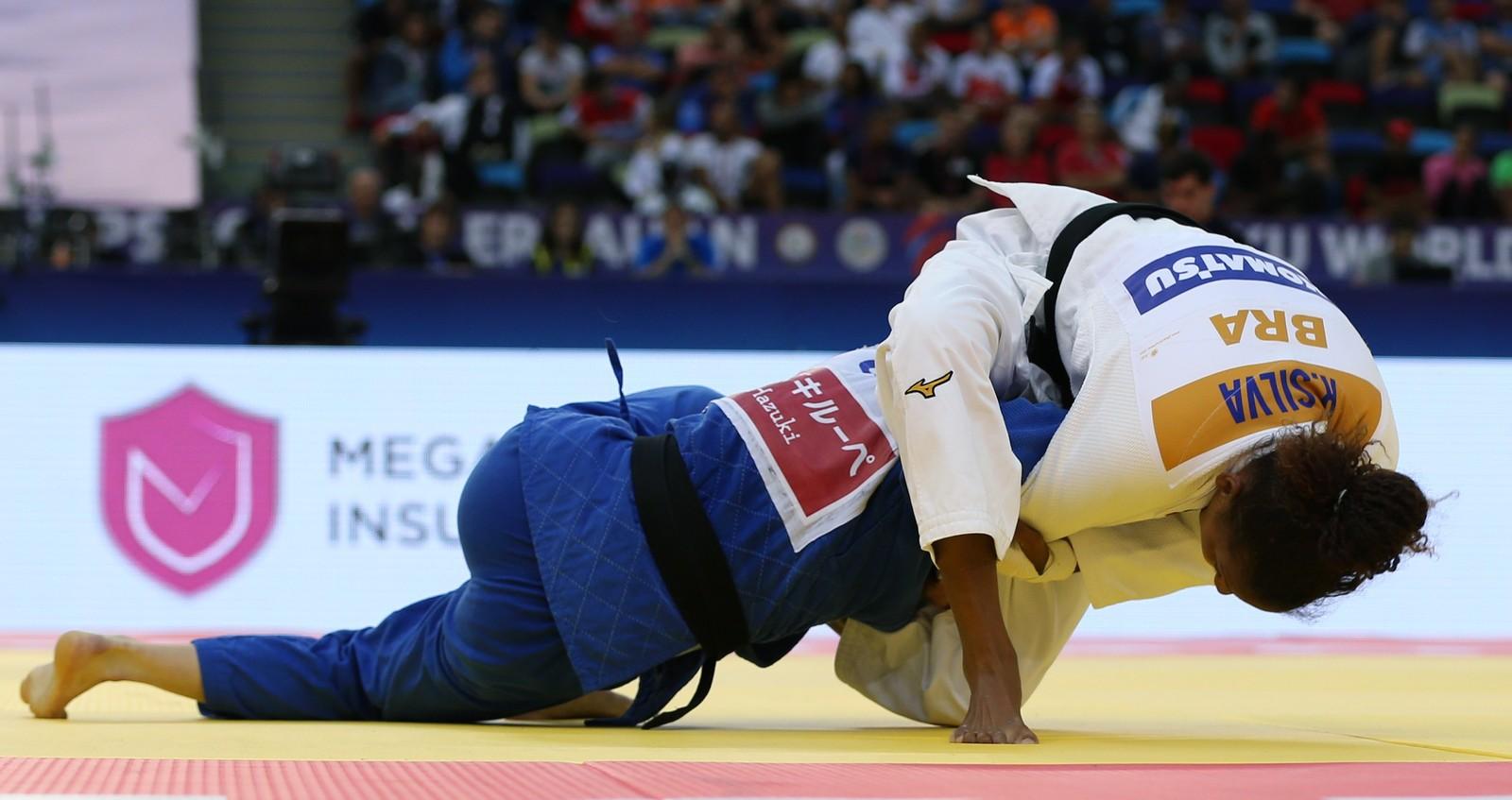 Erika Miranda fatura única medalha brasileira no Mundial de Judô; Brasil tem pior campanha desde 2009