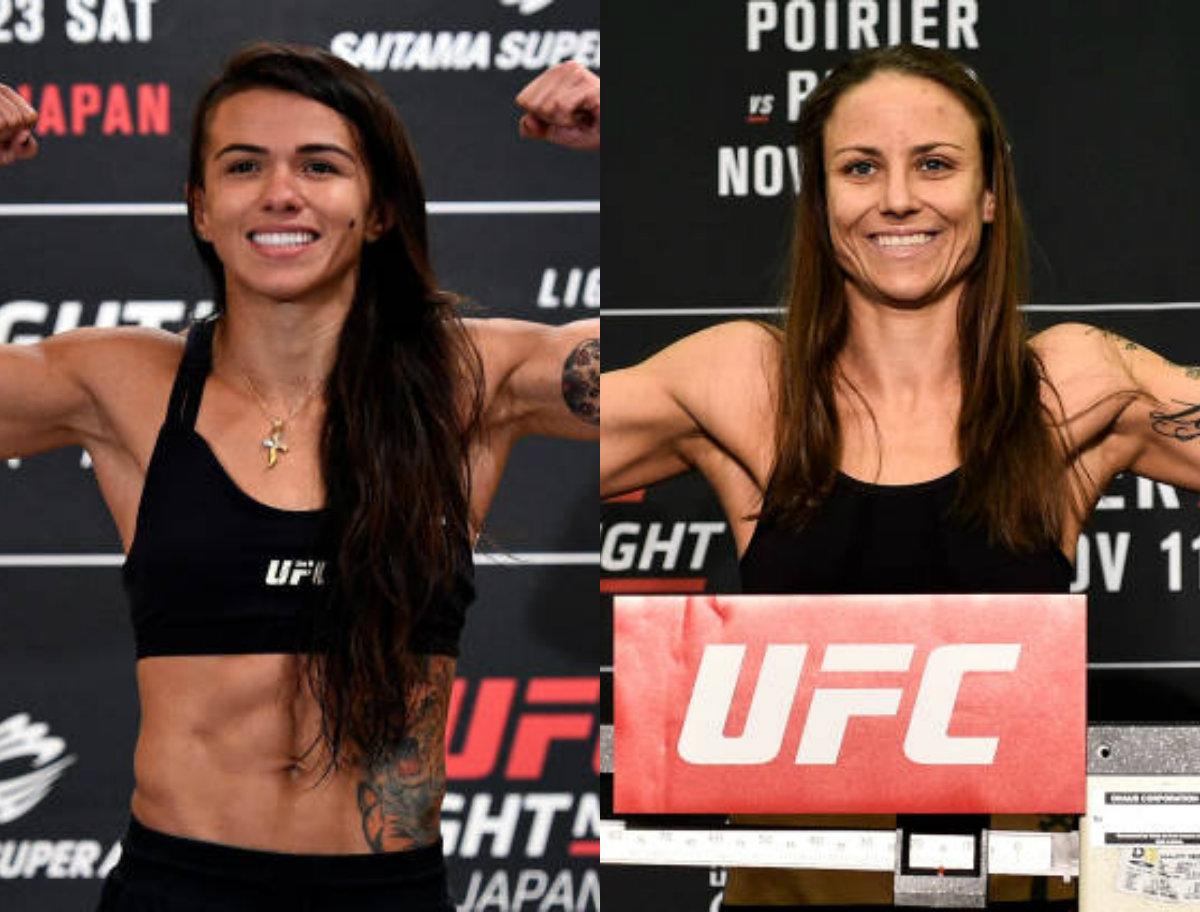 Claudinha Gadelha mede forças com a embalada Nina Ansaroff no UFC 231, em Toronto; saiba mais