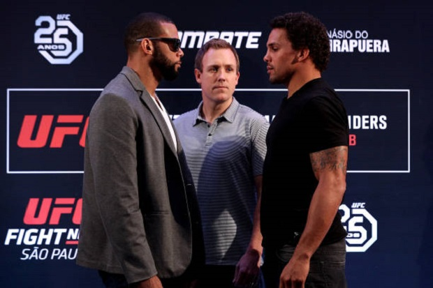 Marreta 'comemora' entrada de Eryk Anders no UFC São Paulo e revela: 'Minha preocupação era a luta cair'