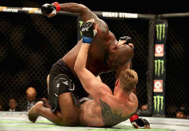 Vídeo: reveja as vitórias de Khabib Nurmagomedov, Derrick Lewis e Vicente Luque no UFC 229