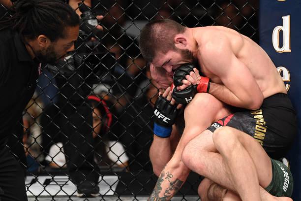 Khabib finaliza McGregor no UFC 229, mas evento termina em briga generalizada; veja como foi