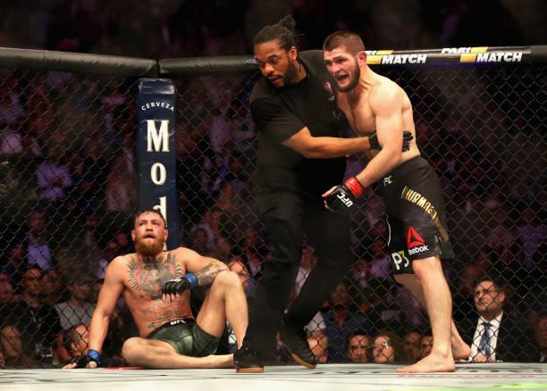 Comissão Atlética bloqueia bolsa de Khabib Nurmagomedov após confusão no UFC 229; saiba mais
