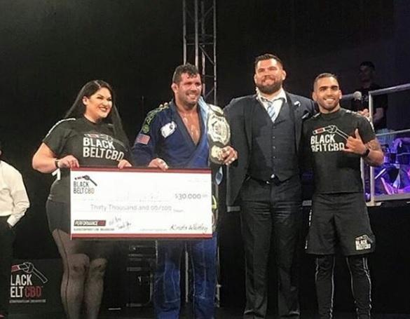 Rodolfo Vieira conquista Black Belt CBD e fatura US$ 30 mil; veja os resultados