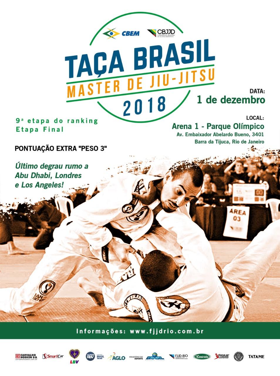 Responsável pela GFTeam, Júlio Cesar opina sobre Taça Brasil Master: 'Ótima oportunidade para a classe'