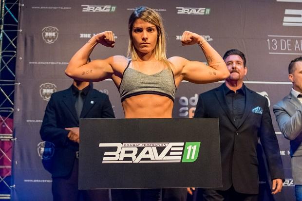 Promessa do MMA nacional, Luana Pinheiro encara venezuelana no Brave 26, em setembro, na Colômbia