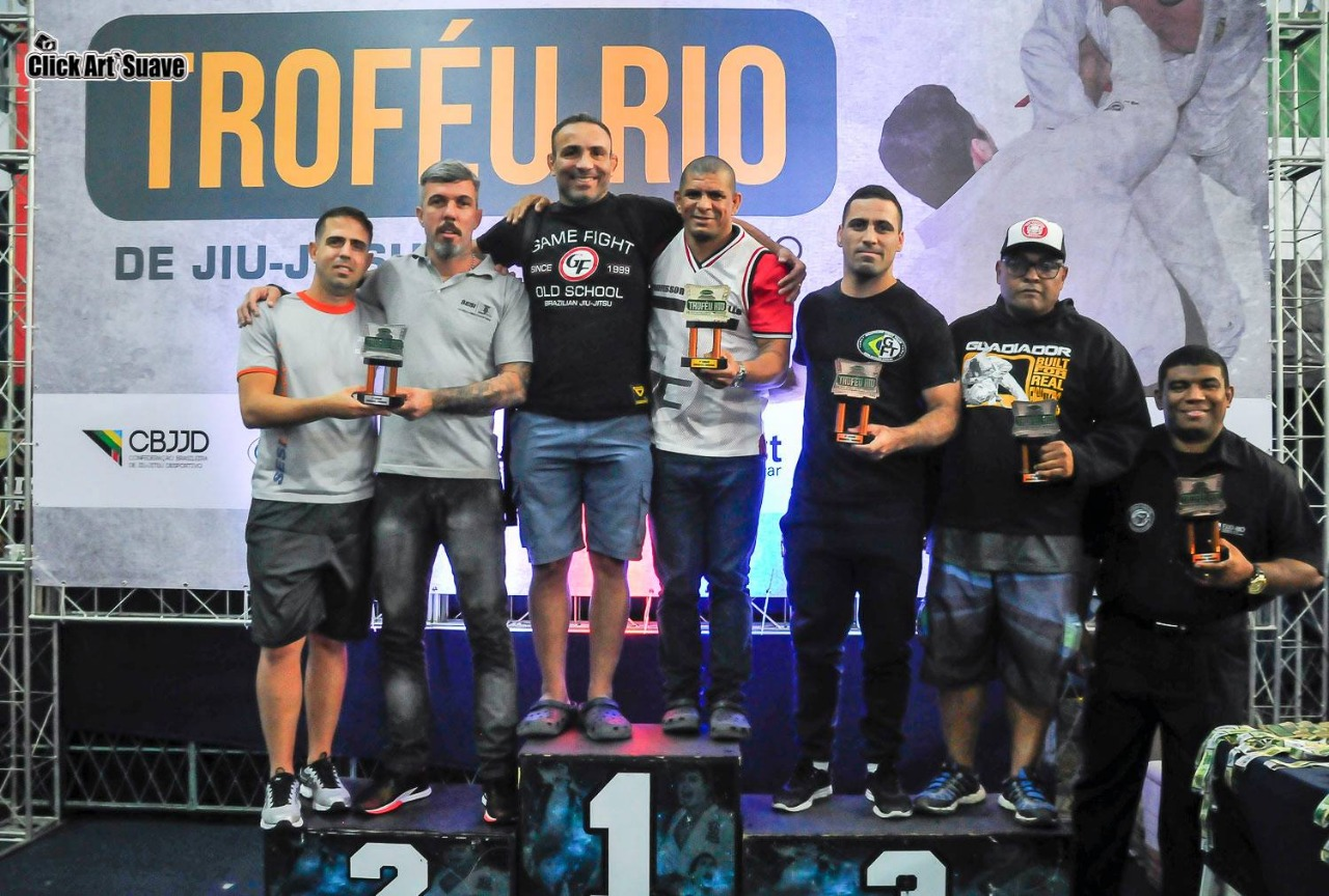 Em alta no ranking da FJJD-Rio, líder da Game Fight projeta última etapa de 2018: 'Nossa equipe vai vir pesada'