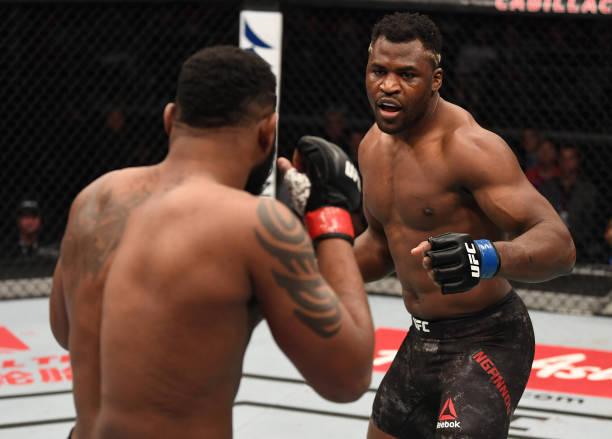 Ngannou e Overeem atropelam nas lutas principais do UFC Pequim; veja como foi