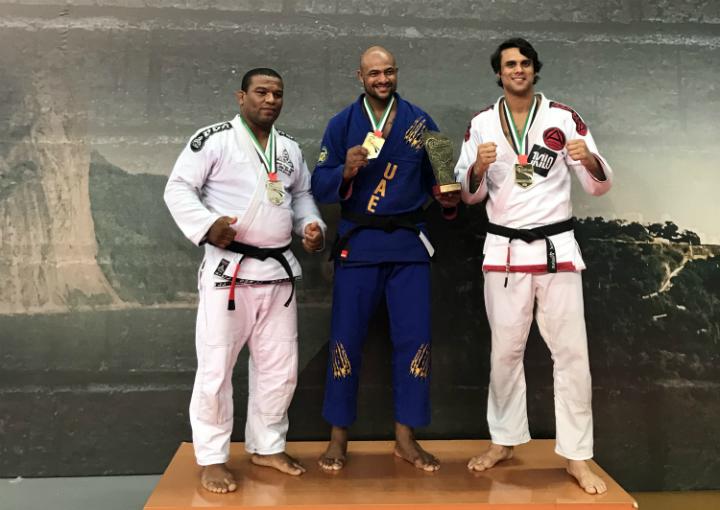 Igor Silva comemora conquista no Grand Slam do Rio e traça meta: 'Ser campeão também no master'
