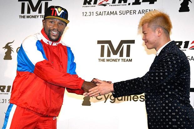 Adversário de Mayweather, Tenshin Nasukawa responde McGregor e diz: 'Eu prometo vingar sua derrota'