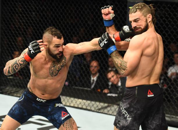 Ponzinibbio elogia Magny antes do UFC Argentina e pede chance pelo título; veja