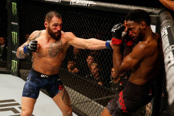 Vídeo: assista aos melhores momentos da vitória de Santiago Ponzinibbio sobre Neil Magny no UFC Argentina