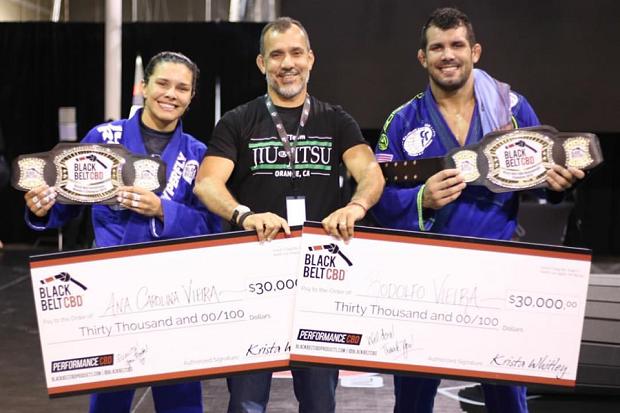 Campeão em sua 'volta', Rodolfo Vieira revela: 'Fazia tempo que não ganhava tanto dinheiro no Jiu-Jitsu'