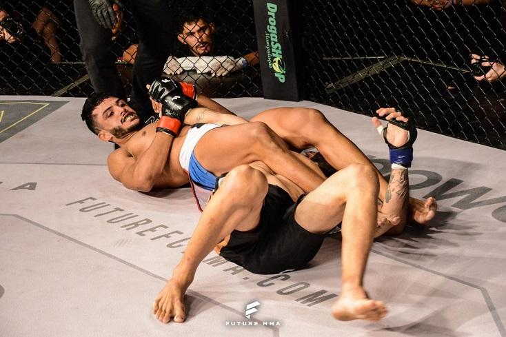 Pupilos de Demian Maia e Patrício Pitbull finalizam rivais no Future MMA 8 em edição com grandes duelos