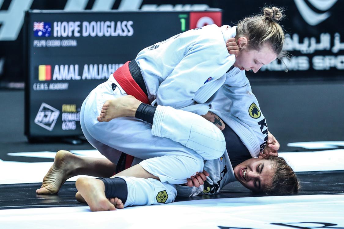 Depois de grande campanha em Tóquio, australina Hope Douglass mira outro ouro no Abu Dhabi Grand Slam Los Angeles