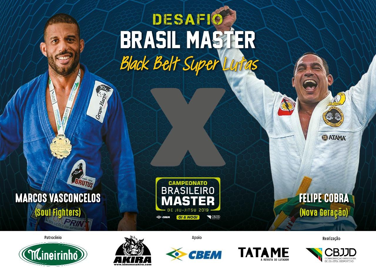 Lutadores analisam superlutas no Brasileiro Master da CBJJD e projetam: 'Público verá uma luta movimentada'