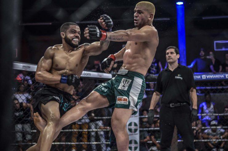 Empolgado após vencer ex-campeão do Bellator, Elvis disputa cinturão no Shooto Brasil 94 em busca de uma vaga no UFC