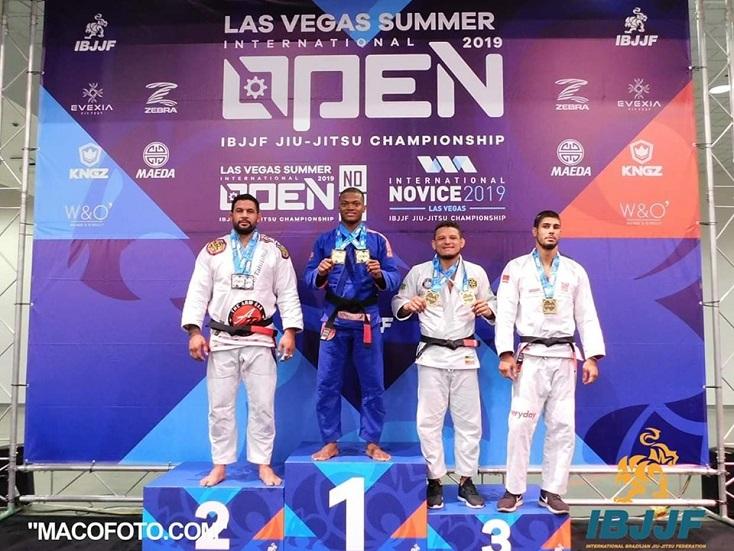 Guthierry Barbosa, Bia Basílio, Pedro Henrique e Heather Raftery são destaques no Las Vegas Open